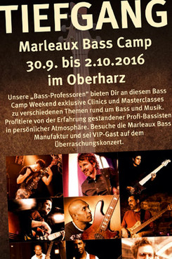 TIEFGANG Bassworkshop 2016