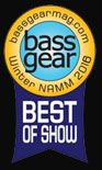 2016 Winter NAMM - CONTRA - Best of Show Award (Bass Gear Magazine)