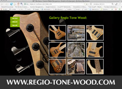 Regio Tone Wood Website